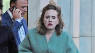 Szegény Adele-ről egészen rettenetes fotók készültek
