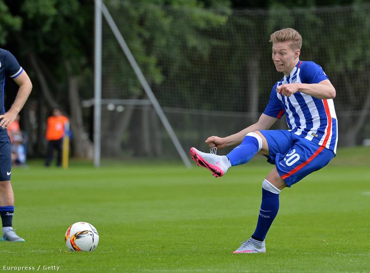 Mitchell Weiser a Hertha mai edzésén