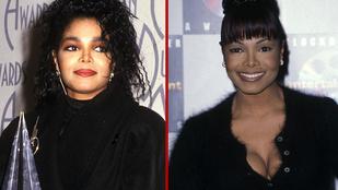 Janet Jackson évről évre többet mutatott magából