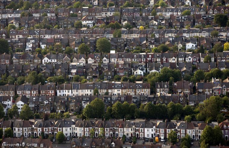 London északi külvárosa
