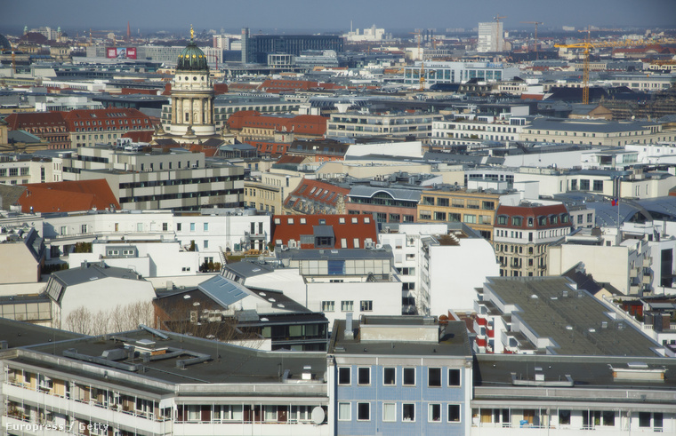 Berlini háztetők