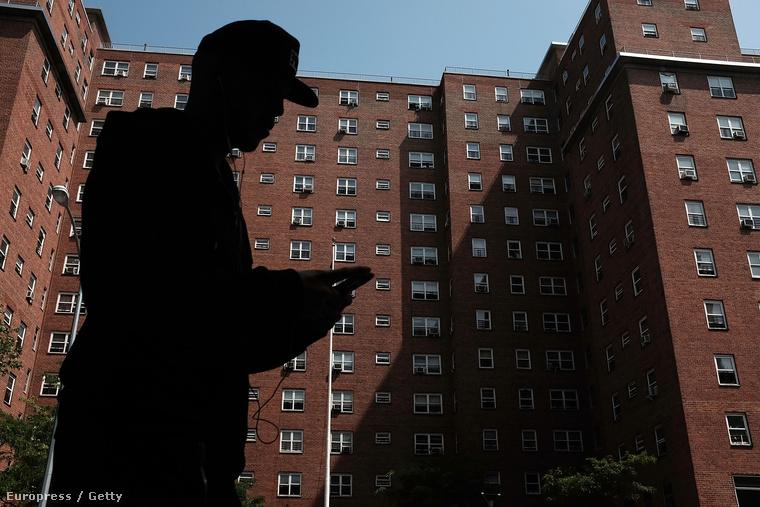 Lakótömb Kelet-Harlemben