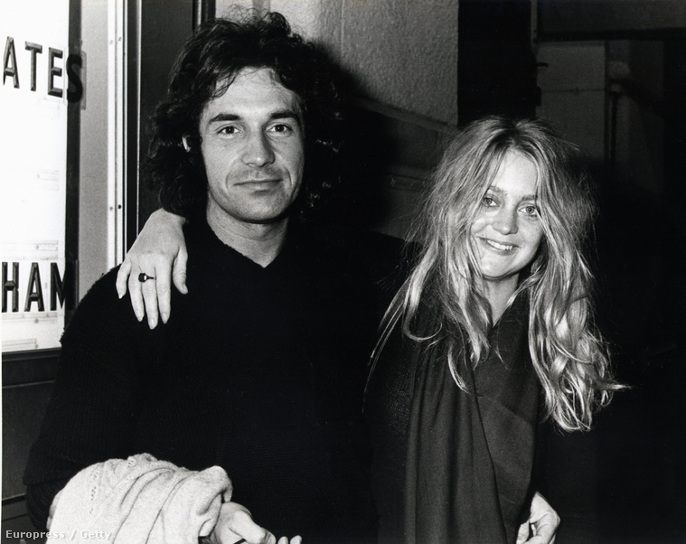 Goldie Hawn és Bill Hudson 1976-ban