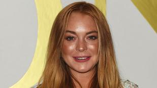 Lindsay Lohannak puffadt a feje, így a mosolygás is nehezen megy