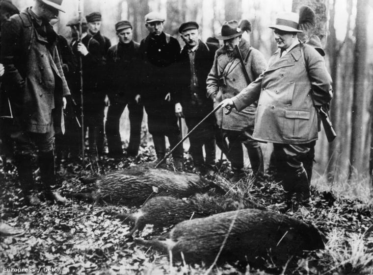 Hermann Göring egy vadászaton