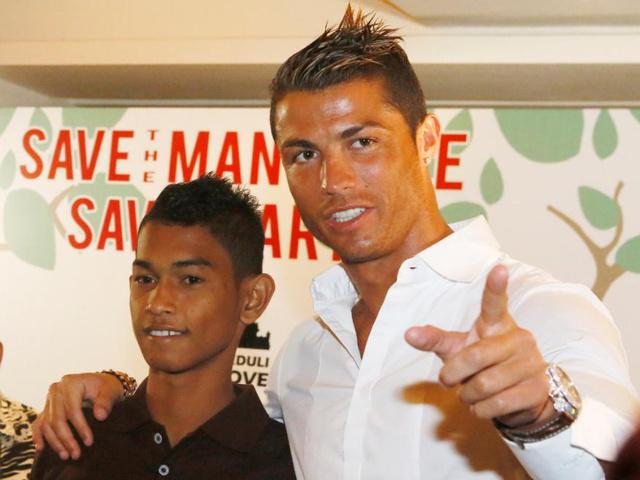 Találkozás Cristiano Ronaldóval