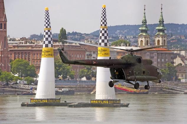 Mi-17 típusú katonai helikopter közelebbről