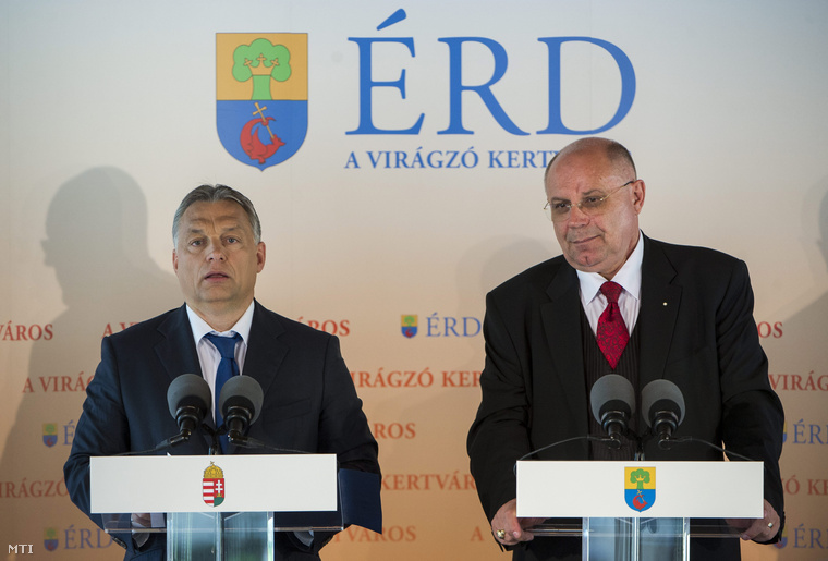 Orbán Vitor és T. Mészáros András