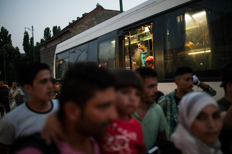 Az utolsó vonat után közel tíz perccel érkezett a busz