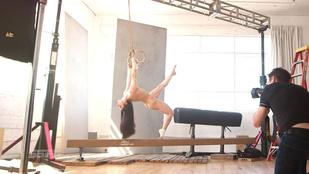 Levetkőzött az olimpikon művészi tornász, de teljesen