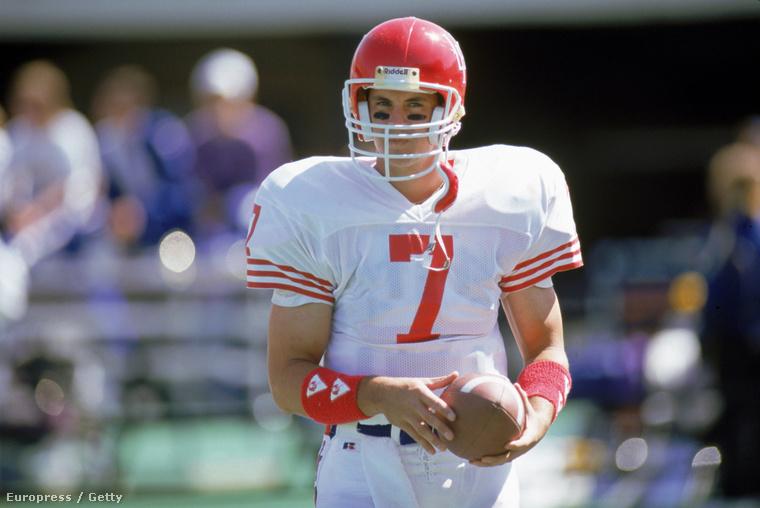 David Klingler, a Houston rekordhalmozó QB-ja