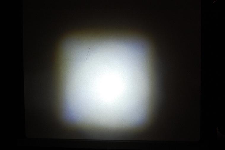 BBB Strike - Nagyon jó vetítési kép, kevés szórt fény