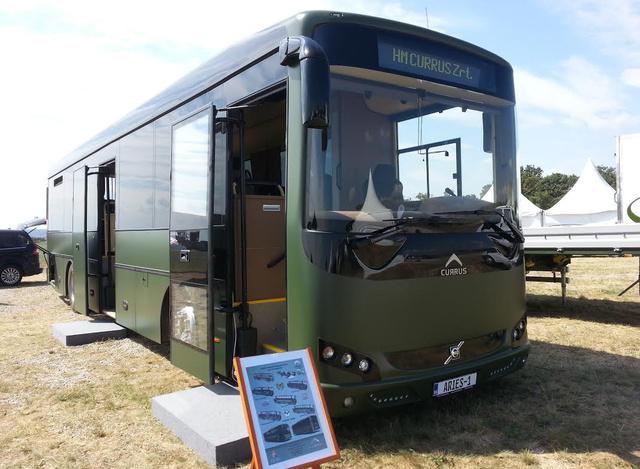 A prototípus a Magyar Honvédség olívzöld színét kapta