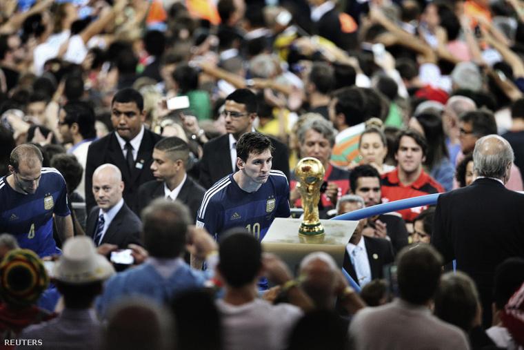 Messi tavaly is csak nézhette, de fel nem emelhette a kupát