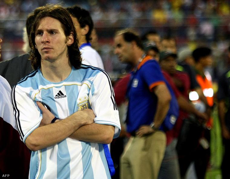 2007-ben is csalódott a Copa-döntő után