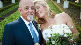 Billy Joel elvette 33 évvel fiatalabb menyasszonyát