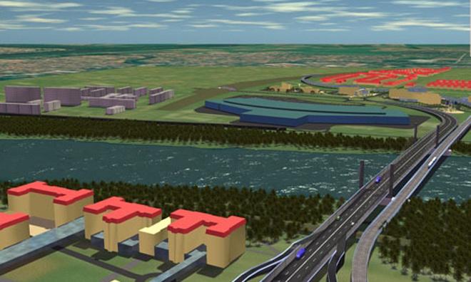 Biztosan megépül 2020-ig a harmadik Tisza-híd Szegednél.