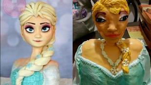 Itt az elbaltázott Jégvarázs-torta igaz története