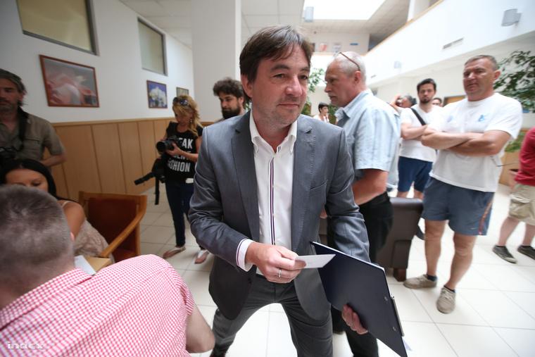 Szabó László kommunikációs szakember, a Fogyatékosok Országos Diák- és Szabadidősport Szövetségének (FODISZ) vezetője.
