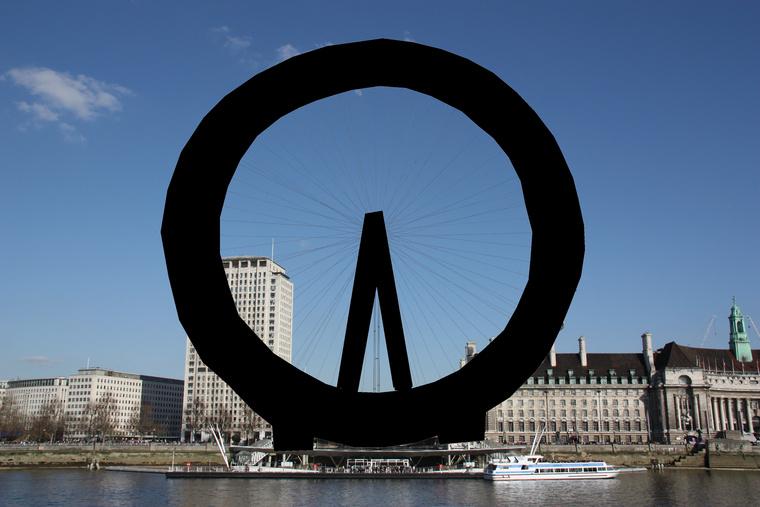 Blacked out London-Eye-2009
