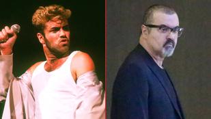 George Michael az elmúlt évtizedek alatt teljesen leépült
