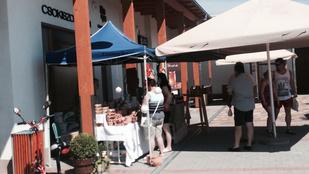Addig vásárolgasson vasárnap a Balatonnál, amíg nem késő