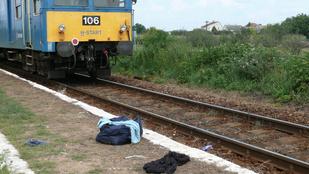 Egymilliárdért vágatta le a lábát a vonattal a nyírkátai férfi