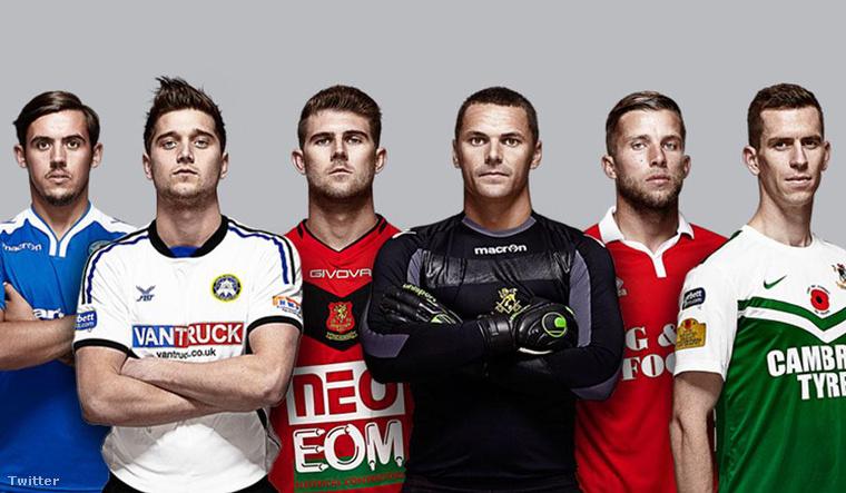Welsh Premier League kampányfotó