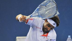 A tenisztörténelem legszebb ütőtörései
