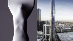Ikertornyok kimaxolva: felhőkarcolót mintáznak Beyoncéról