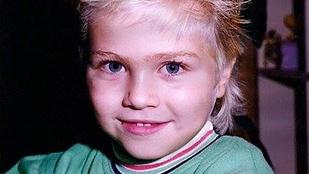 Bozsek Márk irtó cuki volt kisgyerekként