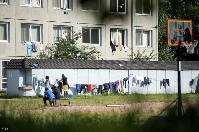 A debreceni menekülttábor