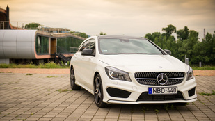 Teszt: Mercedes-Benz CLA Shooting Brake 200 CDI 136 LE – 2015.