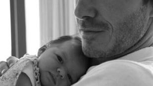 David Beckham közös fotóval ünnepelte egyetlen lánya születésnapját