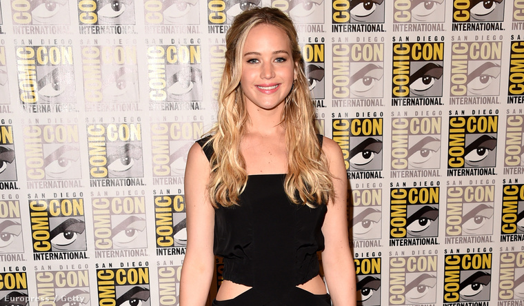 Jennifer Lawrence a Comic Conon