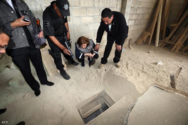 Ebben a házban ért véget a börtönből kivezető alagút.