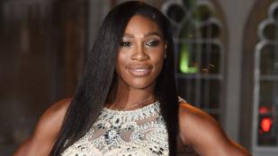 Serena Williams a pályán és estélyiben is csodálatos