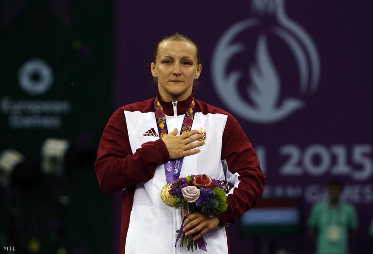 Sastin Marianna az I. Európa Játékokon 2015. június 15-én.