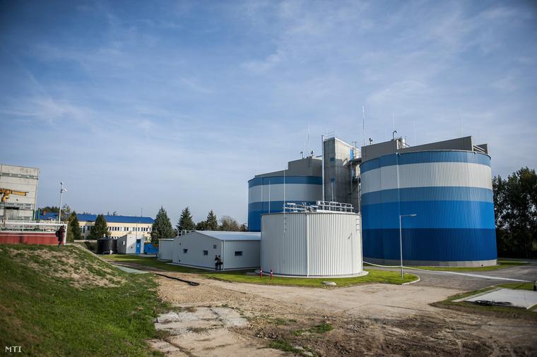 A tavaly októberben átadott biogázüzem Pécsen