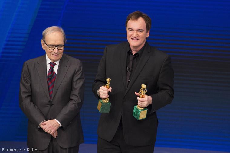 Ennio Morricone és Quentin Tarantino