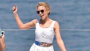 Kylie Minogue fantasztikusan néz ki, ha azt hiszi, nem látják