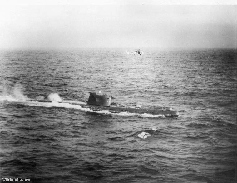 Egy szovjet b-59-es tengeralattjáró