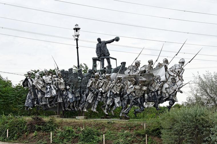 Varga Imre Béla Kun memorial