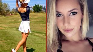 Ez a nő olyat tud a golfütőjével, amire ön sosem lesz képes