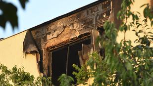 Szándékosan gyújtotta fel a lakást a nő, aki az unokaöccsével kiugrott az ablakon