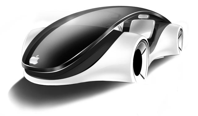 Franco Grassi elképzelése, hogyan nézhetne ki az iCar