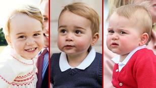 Ha György herceg kétévesen ennyire cuki, mi lesz itt később?!