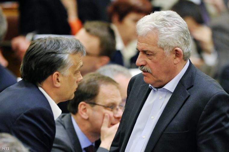 Orbán Viktor és Fónagy János