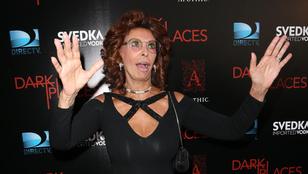 Sophia Loren már csak távolról szép