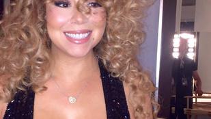 18 karátos gyémánttal lepték meg Mariah Carey-t
